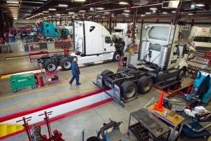 freightliner truck factory
