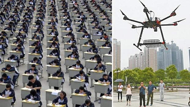 More than nine million high school students began the days-long university entrance examination this week after months of studying, stressing, and travelling with their parents to test administration sites.