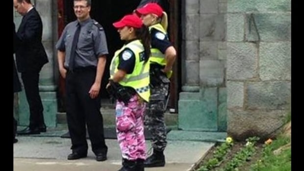 Apology wanted after Montreal police wear army pants to ...