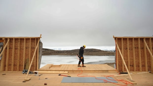 The walls are going up on Iqaluit's mosque - a project that the capital's Islamic society's president hopes to see complete by October.