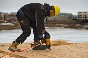 Iqaluit mosque construction
