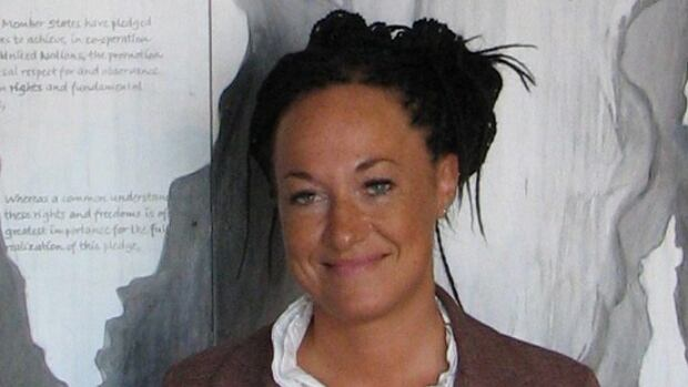 Rachel Dolezal said Monday: 'Please know I will never stop fighting for human rights and will do everything in my power to help and assist, whether it means stepping up or stepping down.'