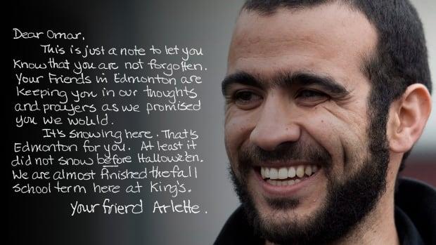 Letter to Omar Khadr