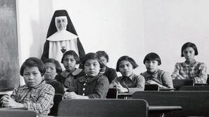 residential school 1940 - RTR4YJ9R2