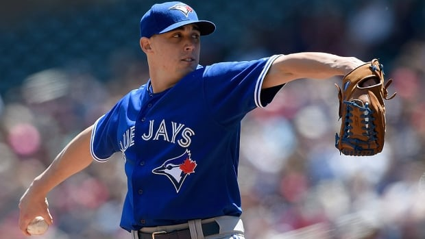 Aaron Sanchez will begin the season as a starter, but may head back to the bullpen later in the year.