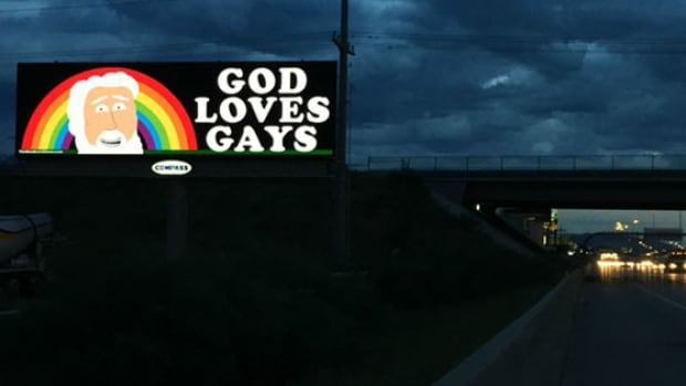 """It is extremely important that this message of love is spread throughout the world,"" says the campaign behind these LGBT-friendly billboards in Utah."