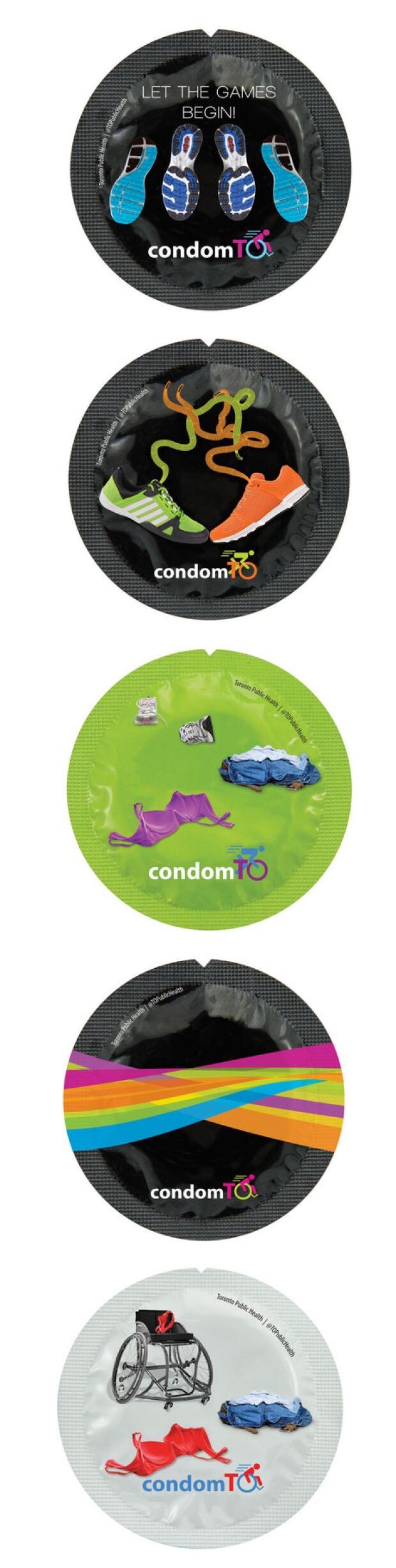 Torotno-branded condoms