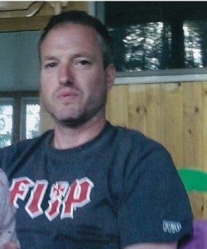 Paul Kerr, 45, was found by mountain bikers pinned under his motorcycle outside of Kimberley, B.C. (RCMP)