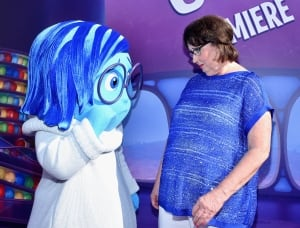 Sadness and actress Phyllis Smith