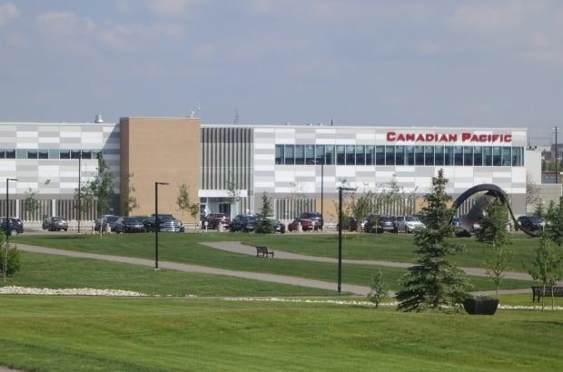 CP Rail building in Calgary