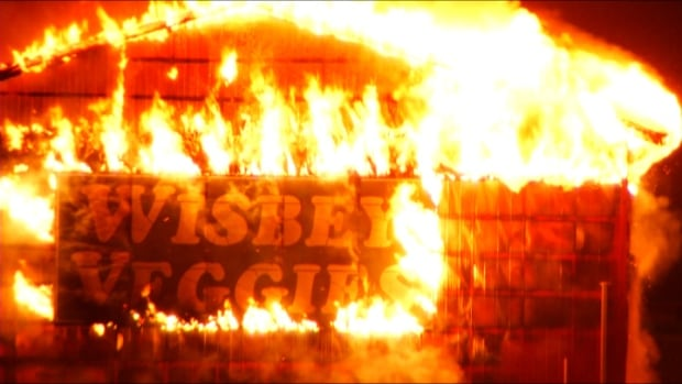 Wisbey Veggies Barn Destroyed By Fire In Abbotsford