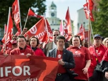 Bill C-377, a controversial private member's bill, would require unions such as Unifor to publicly disclose any spending of $5,000 or more and any salary of more than $100,000.