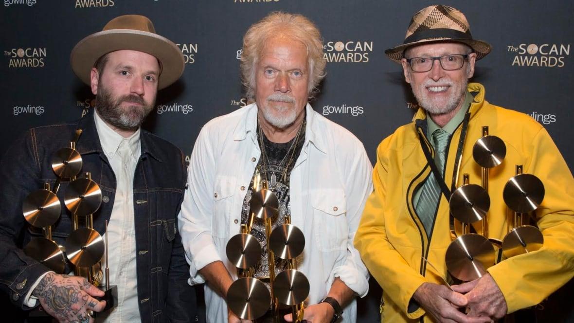 2015 SOCAN Awards: Dallas Green, Randy Bachman among