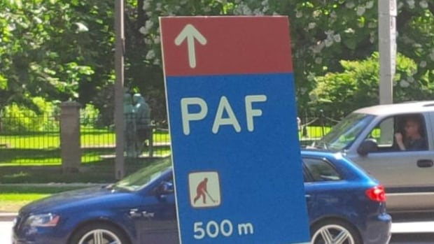 This way to PAF. But what does that mean?