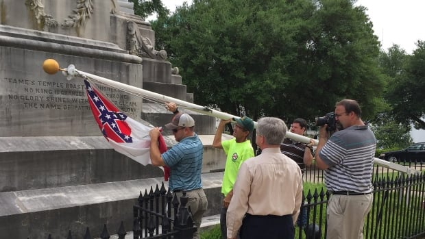 alabama confederate flag controversy South carolina governor nikki haley calls for the confederate flag to be taken down after the killing of nine black churchgoers why does the flag provoke such controversy.