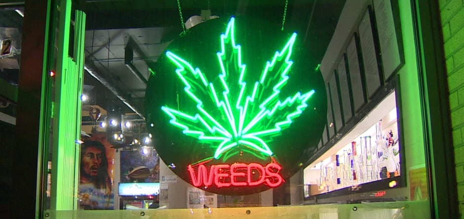 Vancouver pot shop
