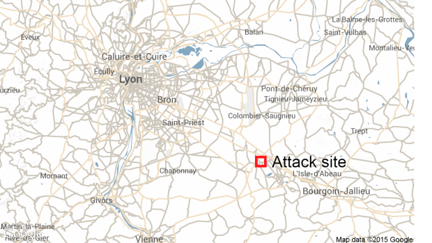 France attack site