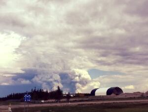 Fire closes NWT Hwy 6 to Fort Resolution