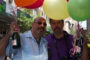 Gay-marriage celebration