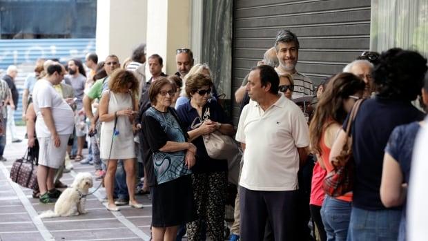 Greek bank withdrawals