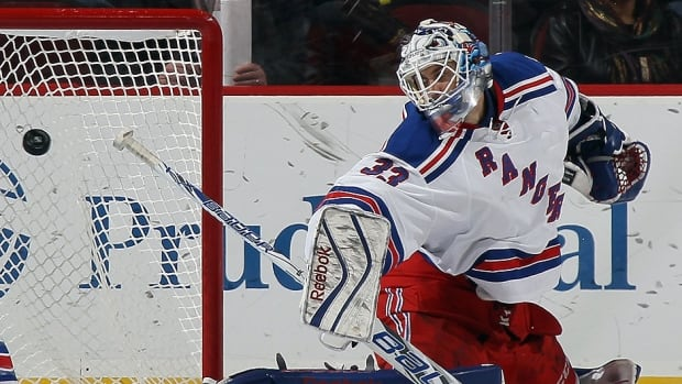 The Rangers traded goalie Cam Talbot to the Edmonton Oilers at Saturday's NHL draft. When starter Henrik Lundqvist was sidelined this season with a serious neck injury, Talbot appeared in 23 of 25 contests, going 16-4-3 with a 2.16 goals-against average and .929 save percentage. Overall, the native of Caledonia, Ont., went 21-9-4 with a 2.21 GAA and .926 save percentage.