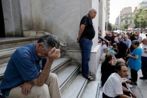 GREECE banks pensioners