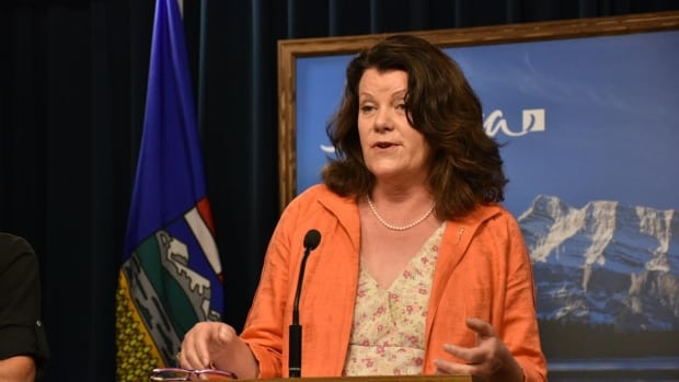 Lori Sigurdson, Alberta's minister of jobs, skills, training and labour, says today's plan is a 'moderate, reasonable approach' to increasing the minimum wage in Alberta.