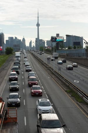 Toronto Pan Am Games traffic HOV