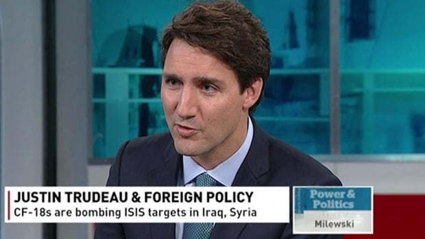 The Conservative Party of Canada posted an online video last Thursday that edited snippets of what Justin Trudeau said on Power & Politics with disturbing images from ISIS propaganda.