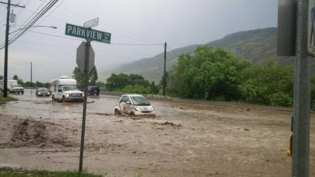 Kamloops flash flooding