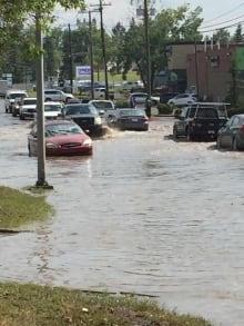 Flash flood Calgary