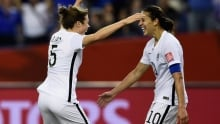 FIFA Women's World Cup: United States blanks Germany in semis
