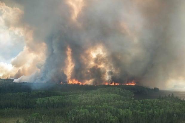 Northern Saskatchewan fires