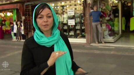 Nahlah Ayed in Tehran