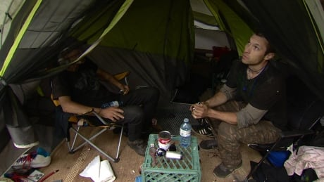 Makeshift camps in river valley show homeless plan not working, says social...