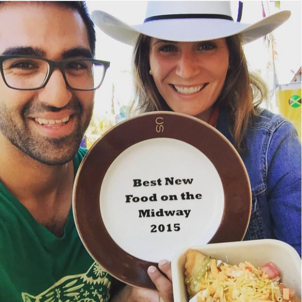 Naaco best new food on midway
