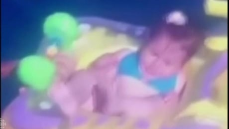 Baby in floating crib drifts 1 km out to sea before rescue
