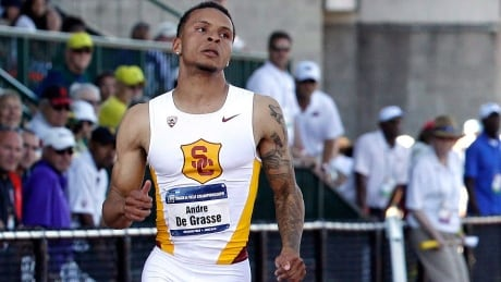 De Grasse bests Brown to win 100m at Canadian championships