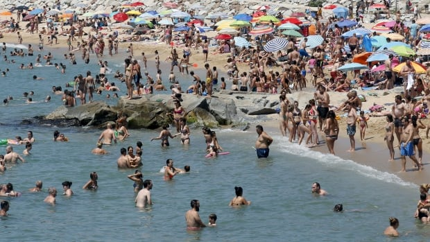 Temperatures in Spain are forecast to soar as high as 42 C into the weekend and stay high until Tuesday.