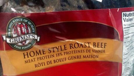 Grimm's roast beef