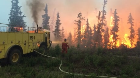 Fighting north Sask. fires