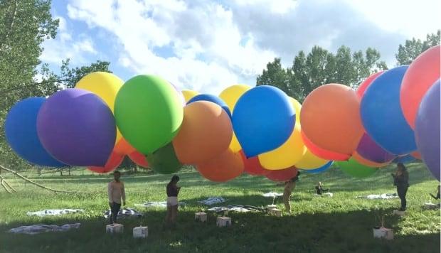 Balloon setup
