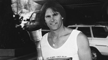 Bruce Caitlyn Jenner Olympic Torch 1984