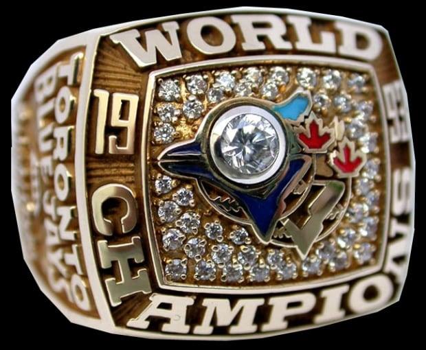 Toronto Blue Jays World Series ring