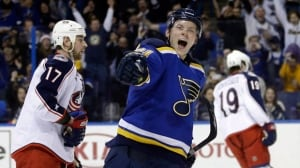 Vladimir Tarasenko signs 8-year extension with Blues