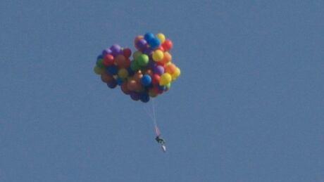 Calgary balloon man just the latest in high-flying stunts
