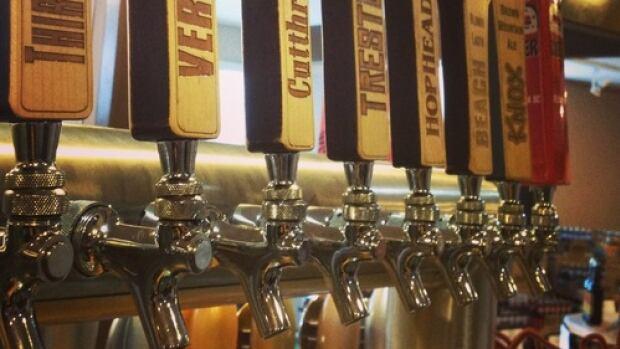 Tree Brewing in Kelowna, B.C. brews three types of unfiltered beers as part of their RAW series.