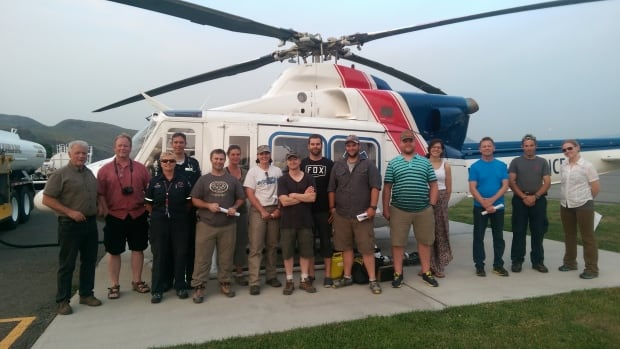 Kamloops and Barriere Search and Rescue teams