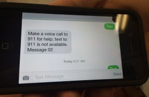 Texting 911 Michigan