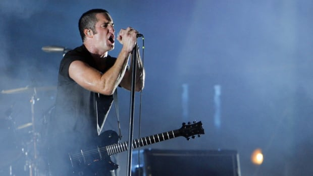 Trent Reznor of music group Nine Inch Nails has sent a letter requesting a group of Alberta politicians to refrain from any use of the band's logo. Calgary Mayor Naheed Nenshi  confirms that Reznor's people contacted him with 'a very polite letter' expressing concern over T-shirts using the bands NIN symbol.